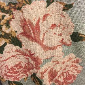 Torrid Floral Sweatshirt